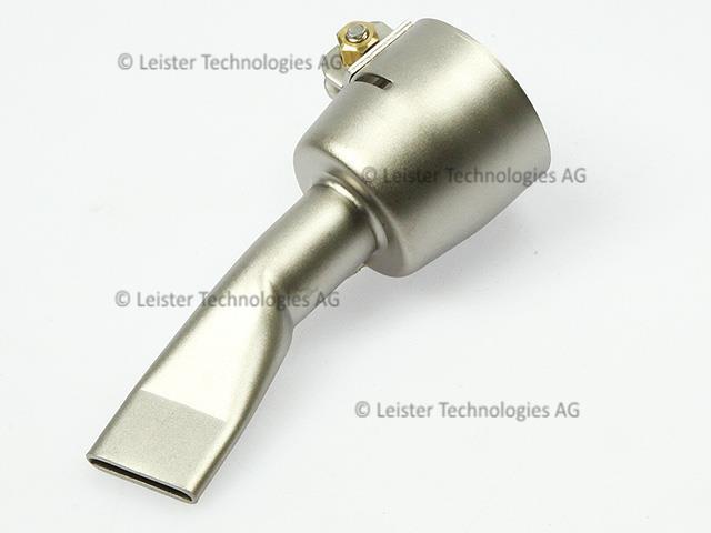 Leister 20mm wide slot nozzle for triac plastic welder