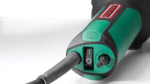 Leister Electron ST green hot air hand tool plastic welding australia