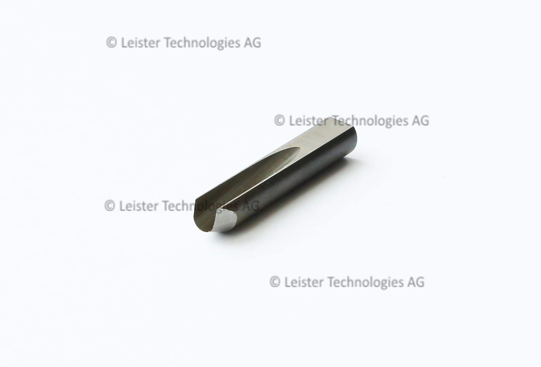 Spare blade for leister groovy hand gouging tool for flooring.
