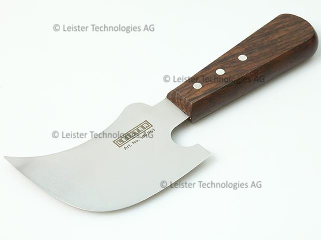 Leister spatula half moon scraping knife flooring plastic welding waterproofing
