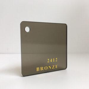 brown bronze tint Acrylic Sheet 2412 brown tint plexiglas perspex wholesale plastic