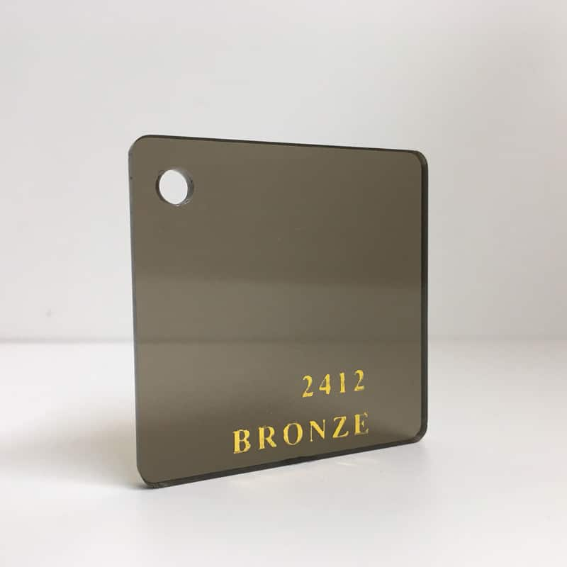 brown bronze tint Acrylic Sheet 2412 brown tint plexiglas perspex wholesale plastic