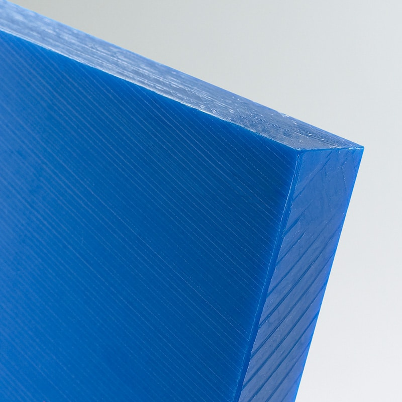 blue hmwpe sheet cut to size high molecular weight polyethylene food grade polyethylene