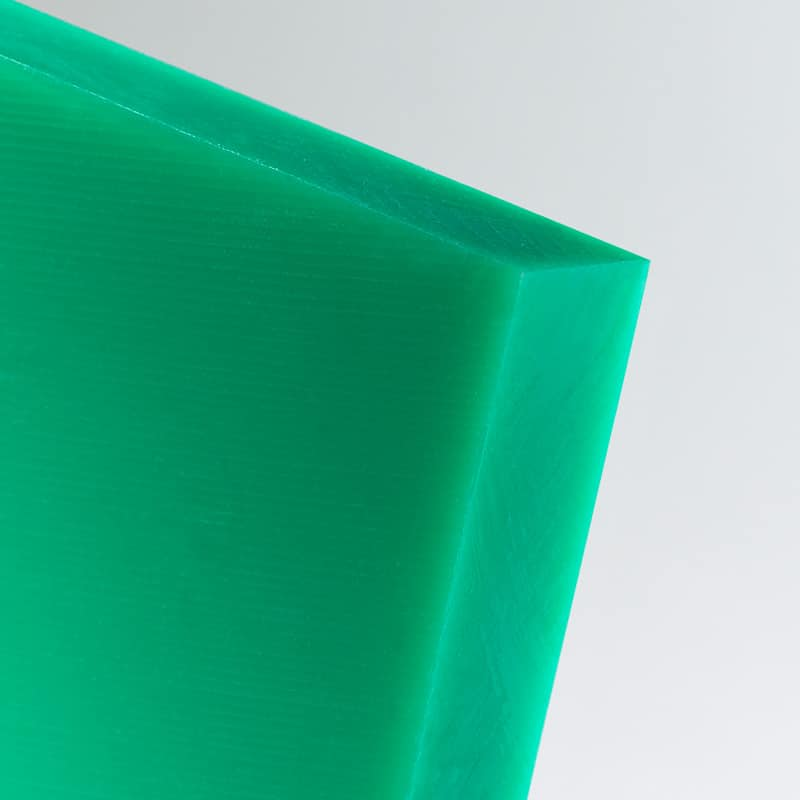 green hmwpe sheet high molecular weight polyethylene food grade polyethylene