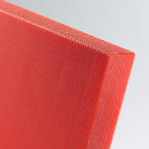 red hmwpe sheet cut to size high molecular weight polyethylene food grade polyethylene