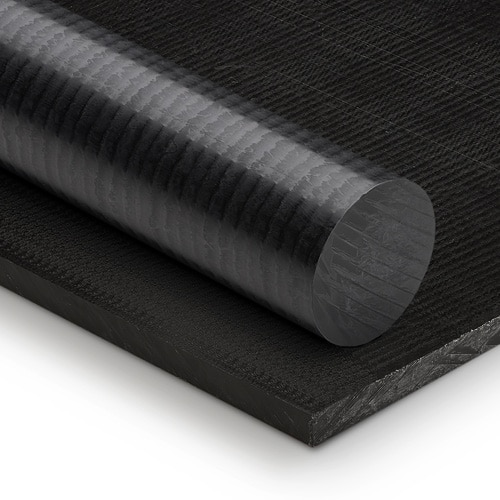 black acetal rod pom rod ensinger tecaform engineering plastics delrin ertacetal gher