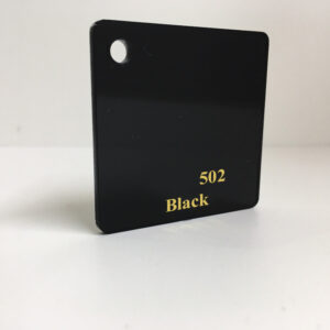 black acrylic sheet black perspex gloss black