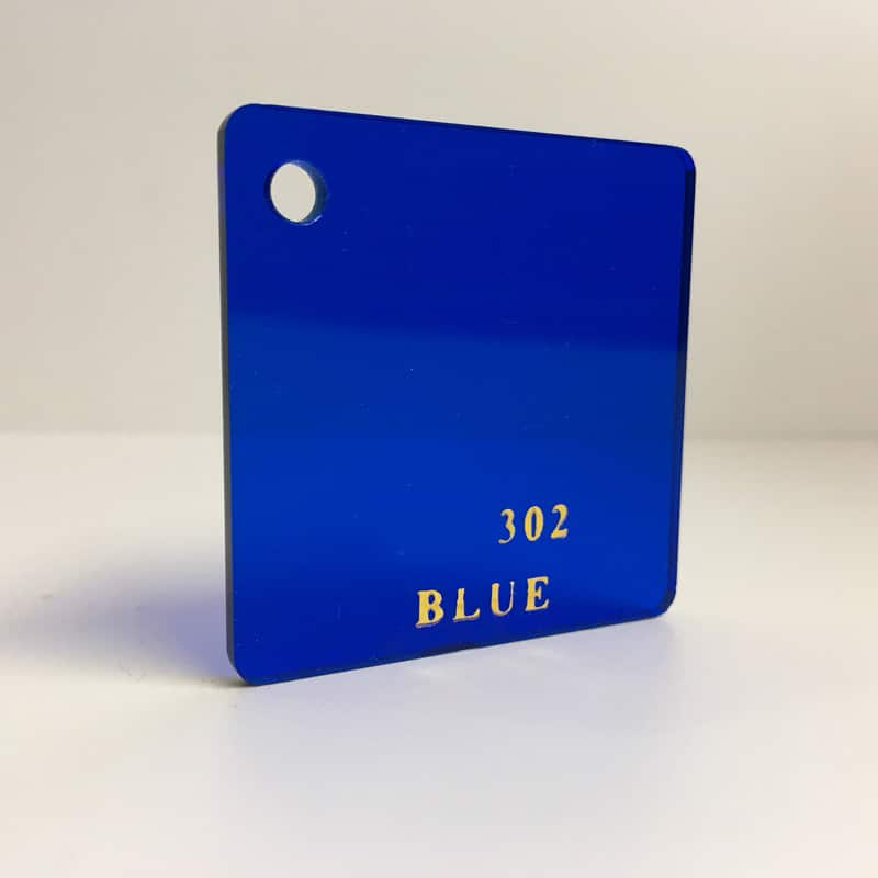 dark blue tint Acrylic Sheet 302 plexiglas clear dark blue perspex wholesale plastic