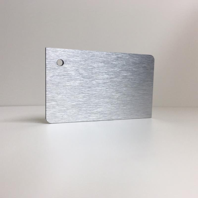 brushed silver ACM Panel aluminium composite panel board sandwich board aluplas alucobond signbond