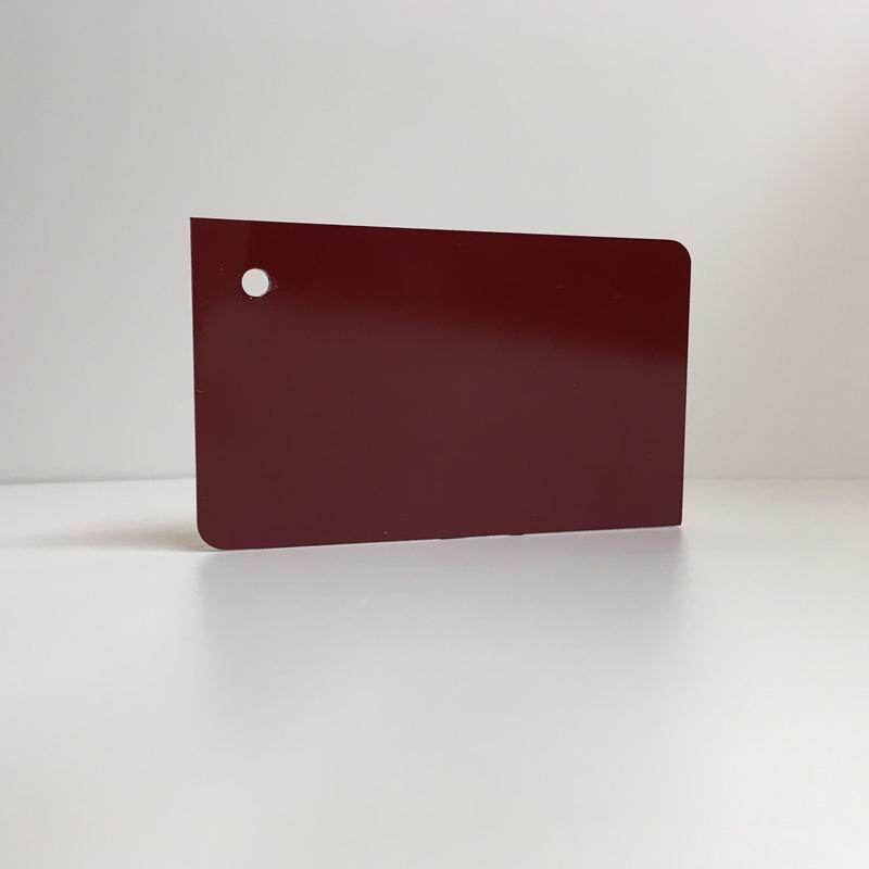 burgendy dark red ACM Panel aluminium composite panel board sandwich board aluplas alucobond signbond