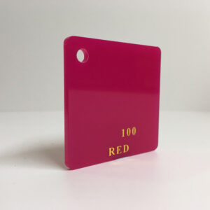 Red cherry Acrylic Sheet plexiglas pink red perspex wholesale plastic