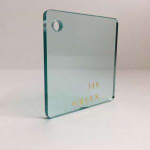 green tint 315 clear Acrylic Sheet 304 plexiglas clear light green clear perspex wholesale plastic