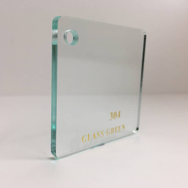 green tint 304 clear Acrylic Sheet 304 plexiglas clear light green clear perspex wholesale plastic