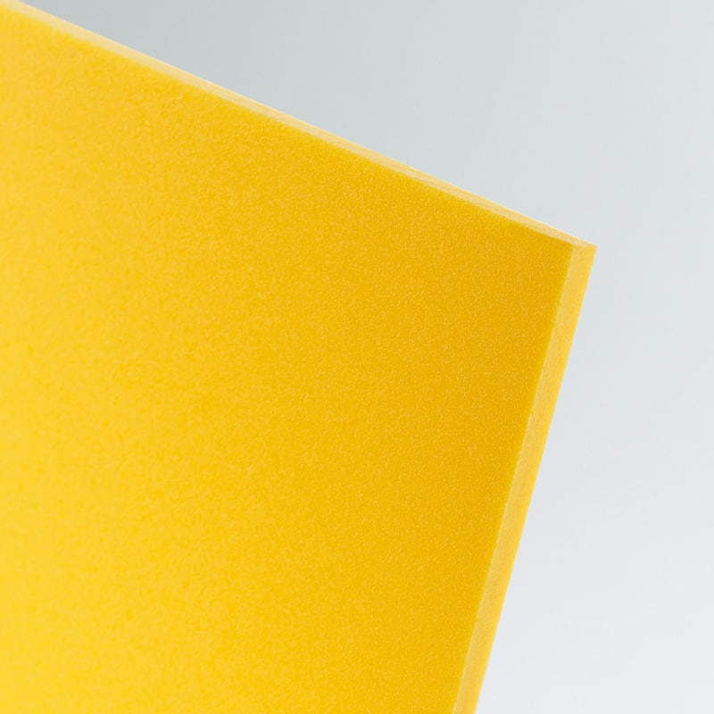 dark yellow foamed pvc foam cut to size wholesale buy online celuka board kycel nycel simopor nanya foamex palight