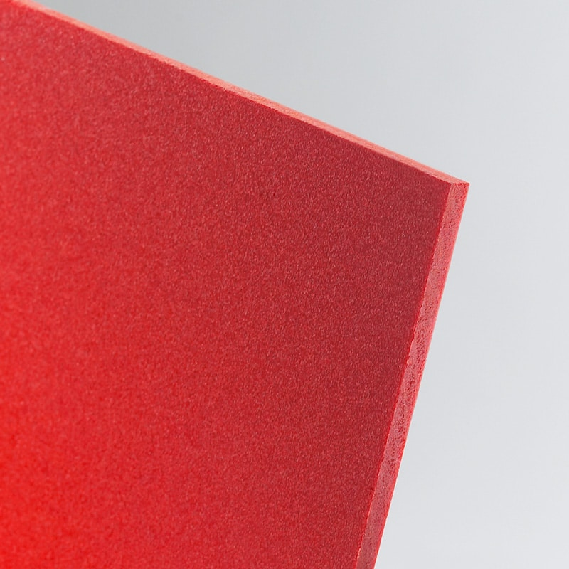 red foamed pvc foam cut to size wholesale buy online celuka board kycel nycel simopor nanya foamex palight