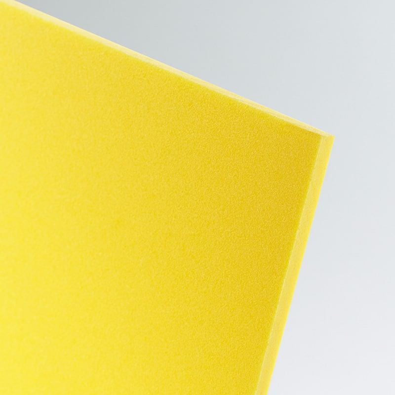 light yellow foamed pvc foam cut to size wholesale buy online celuka board kycel nycel simopor nanya foamex palight