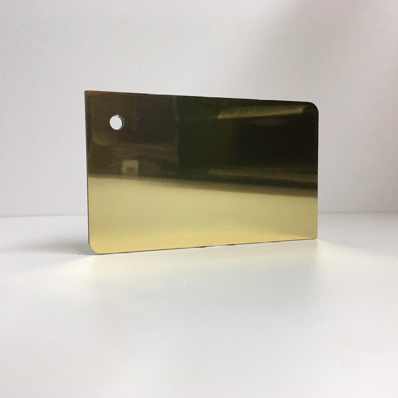 gold mirror ACM Panel aluminium composite panel board sandwich board aluplas alucobond signbond