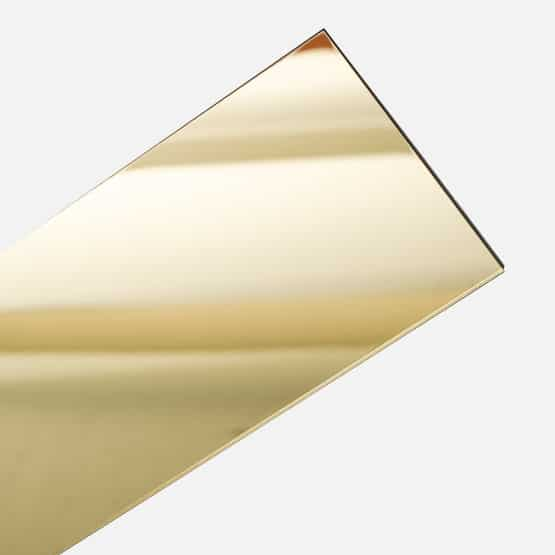gold mirror acrylic sheet wholesale sign