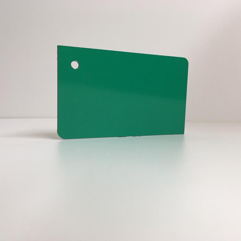 green ACM Panel aluminium composite panel board sandwich board aluplas alucobond signbond
