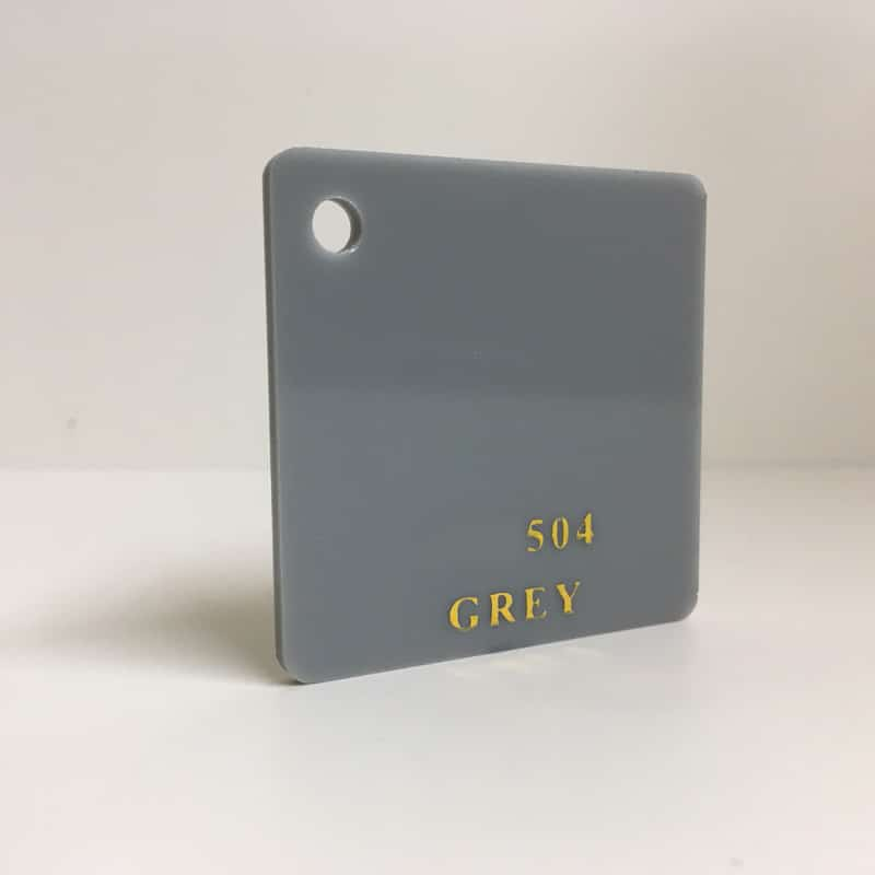 Grey Acrylic Sheet 504 plexiglas blue perspex wholesale plastic