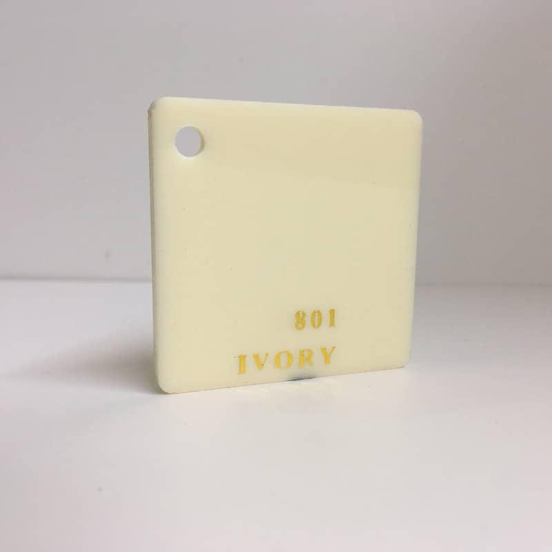 ivory cream white Acrylic Sheet 801 plexiglas ivory perspex wholesale plastic