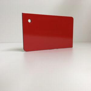 light red ACM Panel aluminium composite panel board sandwich board aluplas alucobond signbond