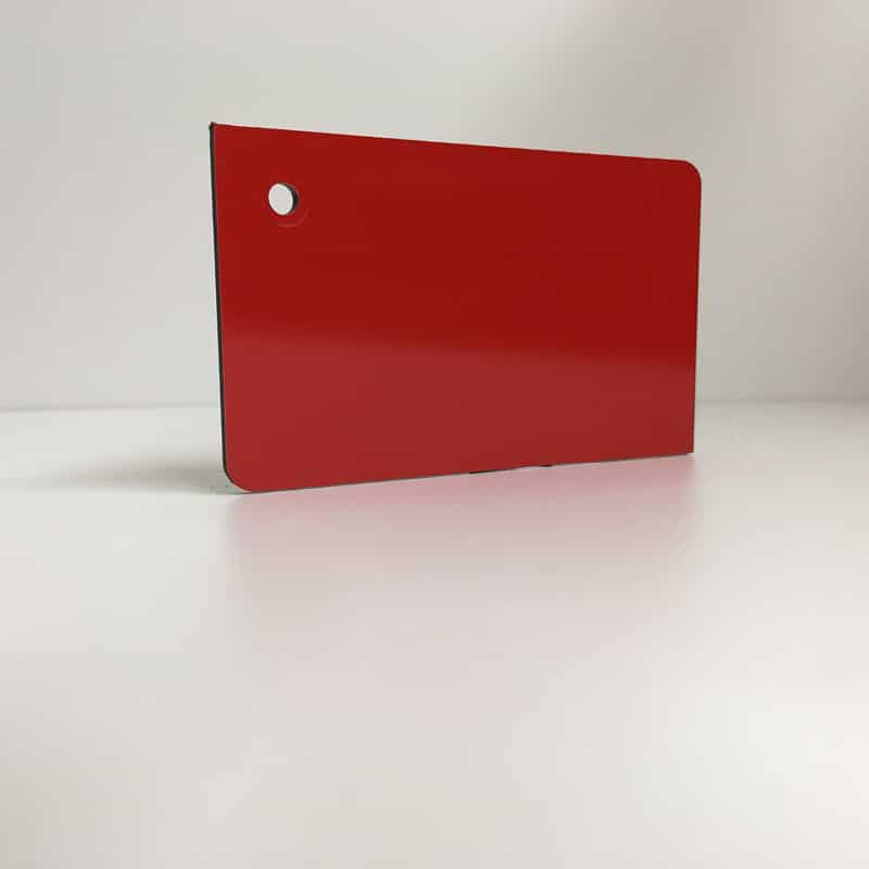 light red ACM Panel aluminium composite panel board sandwich board aluplas alucobond signbond