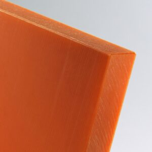 orange glass filled uhmwpe sheet ultra high molecular weight polyethylene pe 1000 polystone