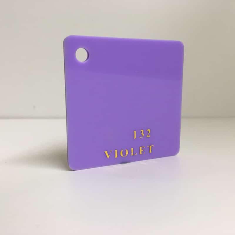 purple violet Acrylic Sheet 132 plexiglas purple perspex wholesale plastic