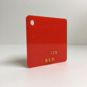 Light red Acrylic Sheet 128 plexiglas light red perspex wholesale plastic