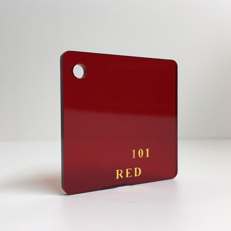 Red tint Acrylic Sheet plexiglas red tinted perspex wholesale plastic