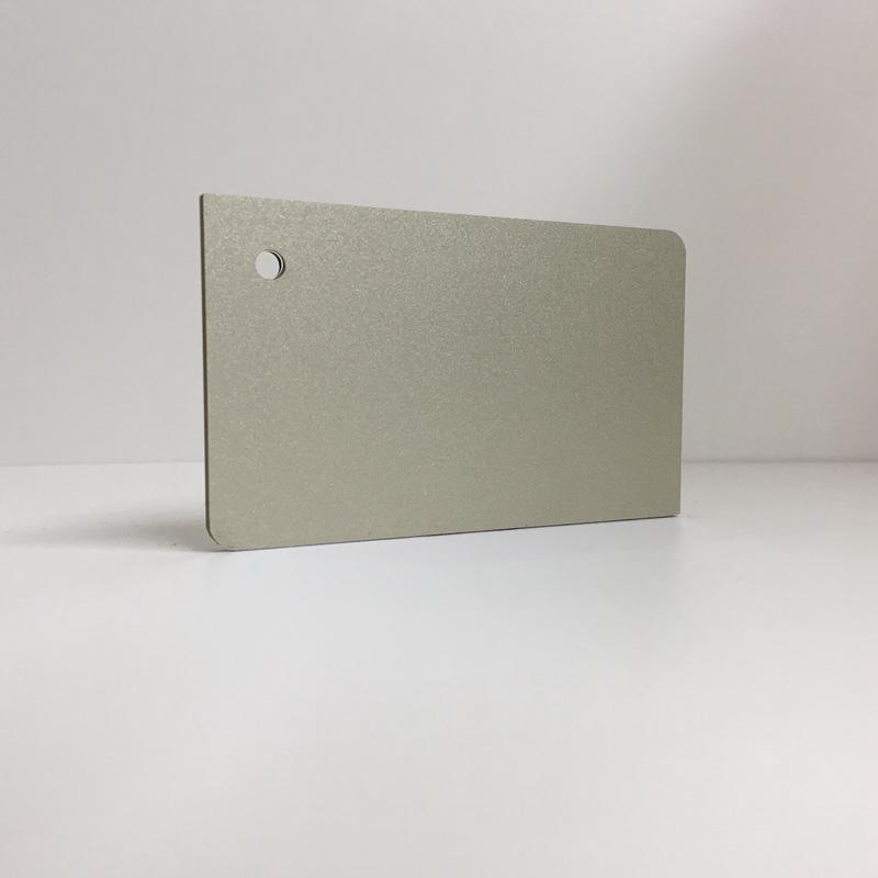 Satin Champagne ACM Panel aluminium composite panel board sandwich board aluplas alucobond signbond