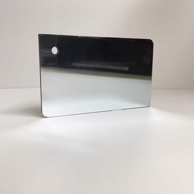 silver mirror ACM Panel aluminium composite panel board sandwich board aluplas alucobond signbond