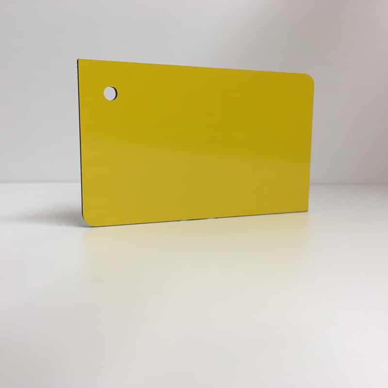 yellow ACM Panel aluminium composite panel board sandwich board aluplas alucobond signbond