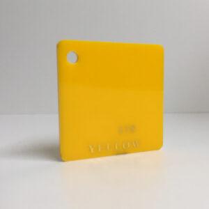 yellow Acrylic Sheet 235 plexiglas yellow perspex wholesale plastic