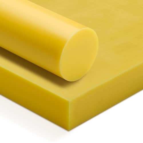 yellow oil filled nylon rod ensinger polyamide rod tecast tecamid lubron nylatron ertalon gher zellamid PA