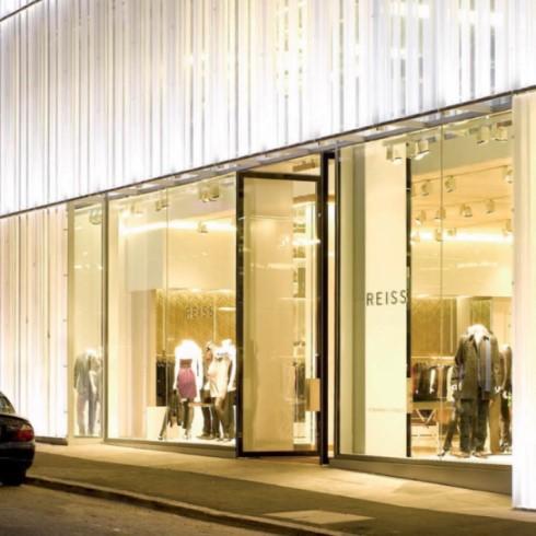 Plexiglas LED Acrylic sheet perspex shopfront