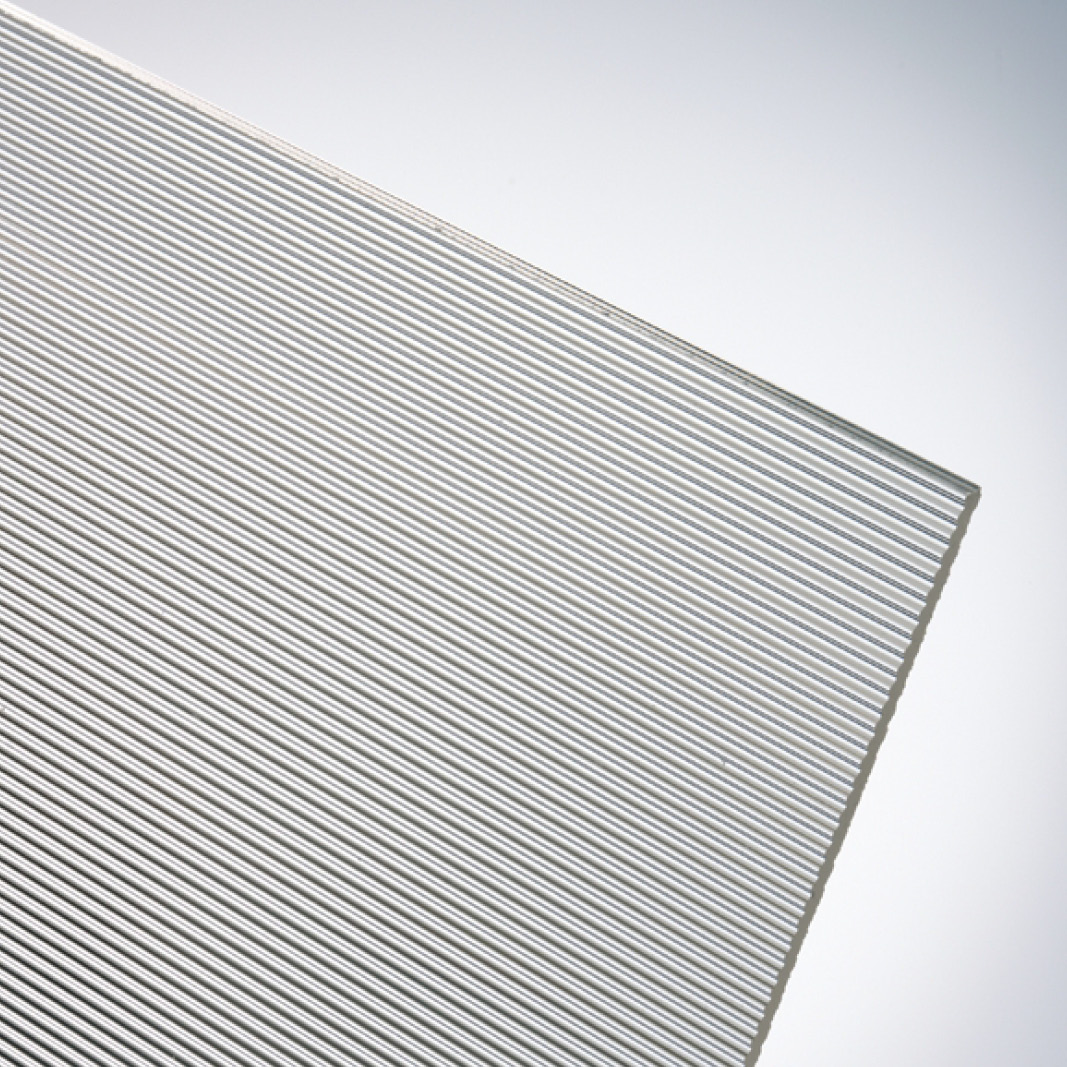 plexiglas ribbed premium textured acrylic sheet