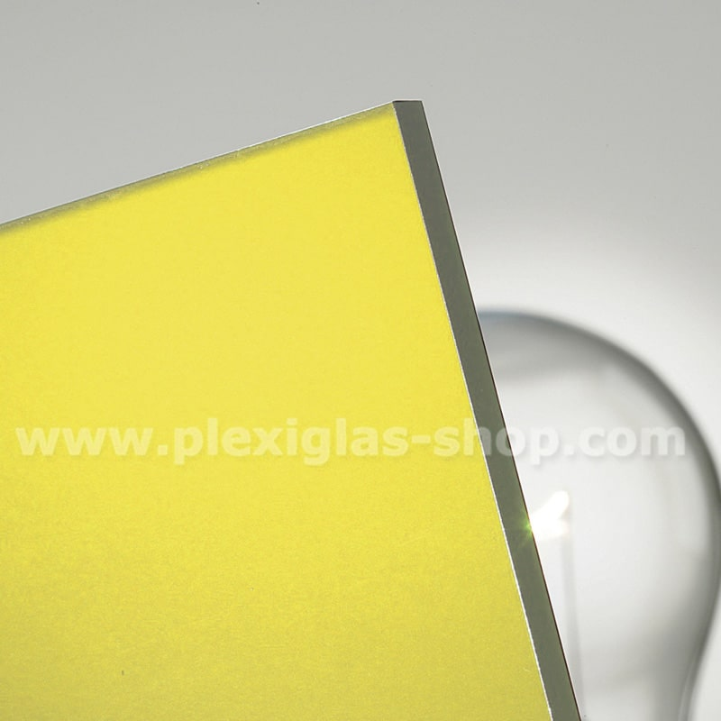 plexiglas satinice citrus coloured frosted acrylic glass sheet