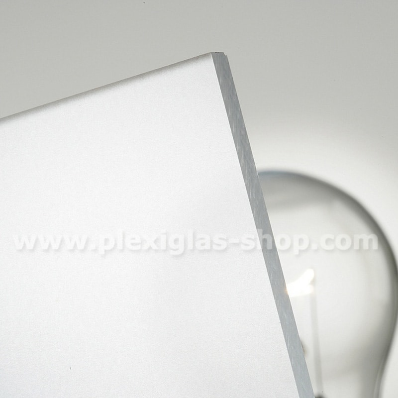 Plexiglas satinice crystal frosted perspex sheet matte finish