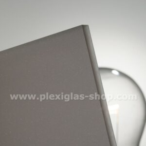 Plexiglas satinice dark brown frosted perspex sheet matte finish,grey-504