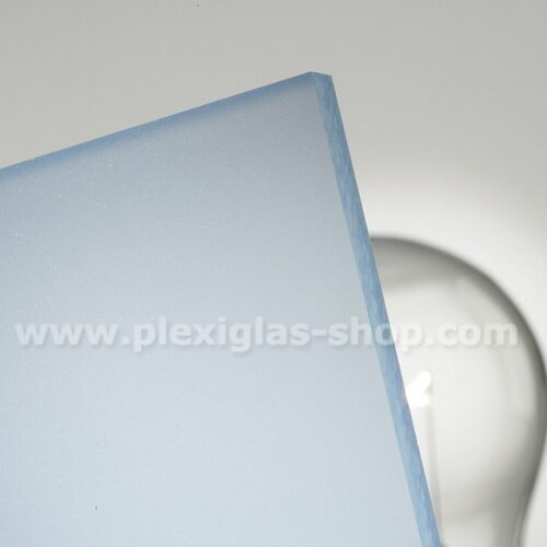 Plexiglas satinice ice blue frosted perspex sheet matte finish
