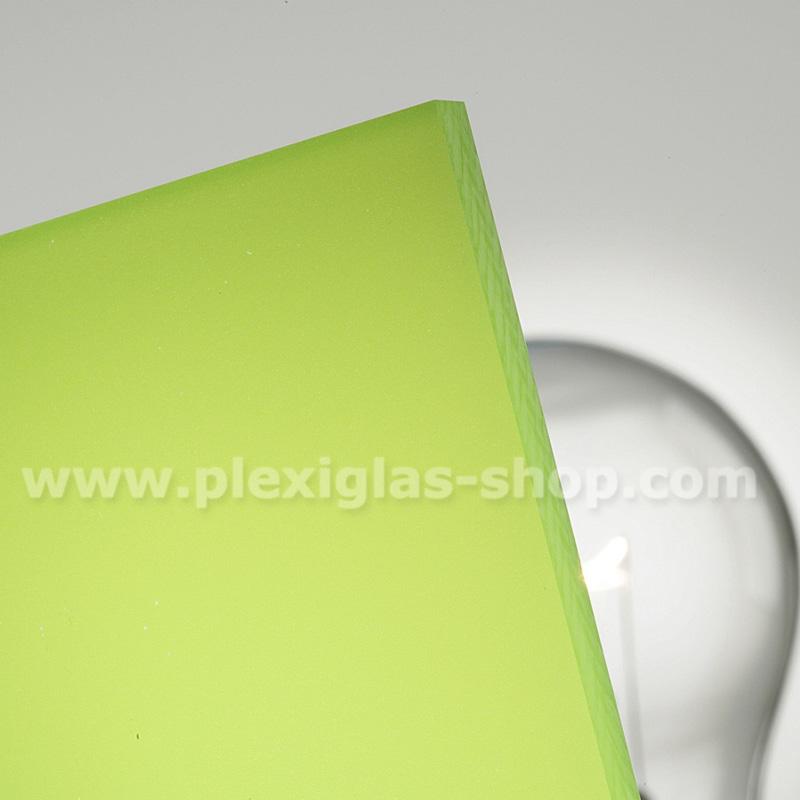Plexiglas satinice kiwi green frosted perspex sheet matte finish