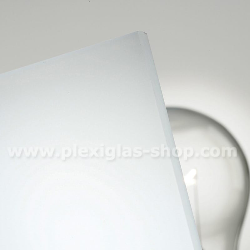 Plexiglas satinice snow white frosted perspex sheet matte finish