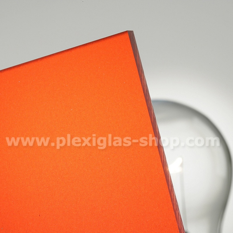 Plexiglas satinice strawberry red frosted perspex sheet matte finish