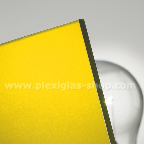Plexiglas satinice sunshine yellow frosted yellow frosted perspex sheet matte finish