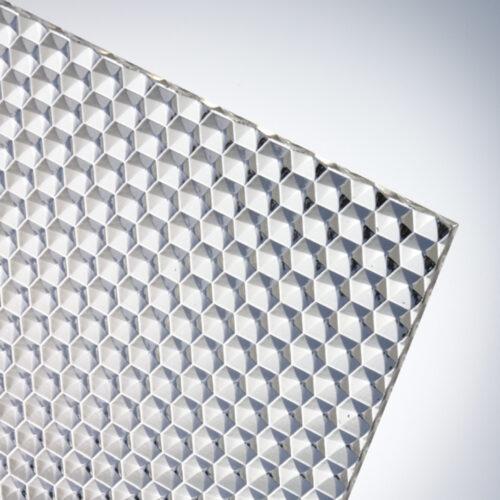 plexiglas honeycomb premium textured acrylic sheet