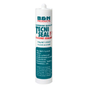 tecniseal acrylic silicone white and clear