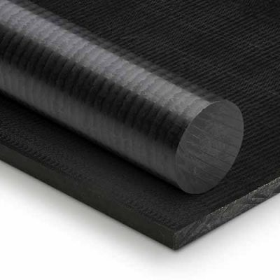 Black Acetal Plastic Sheet and Plastic Rod